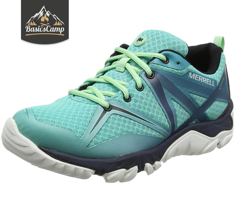 merrell gore tex hiking shoes womens
